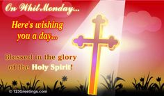 (May 20) It's Whit Monday, the first day after Pentecost. This day is being dedicated specifically to the honor of #God the Holy Spirit... #whitmonday #christianity #jesus