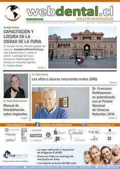 """Revisa """"webdental.cl Boletin Informativo N° 54""""... Todas las Ediciones en: webdental.cl/boletin"""