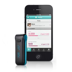 I want the fitbit!! Measures steps, calories burned, distance traveled, number of stairs, and sleep!!
