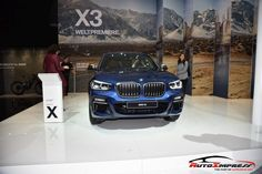 The new BMW X3 - directly from the 2017 Frankfurt Motor Show.  Visit www.autoimpress.net for more pictures of this model.