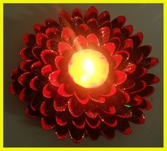 Diwali Decoration Diya Craft - DIY - Best Out of Waste