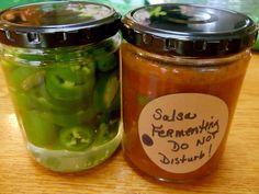 Cultured Chile Salsa  ~Cultured Food Life