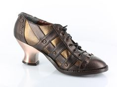 Wow - Steampunk Shoes with a small Heel  - Very Victorian Feel Available at fizzlecrankemporium.co.uk