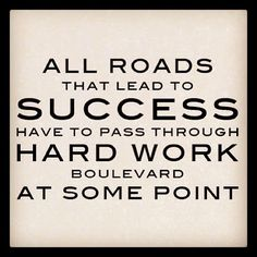 All roads that lead to success .... #smallbiz #startups
