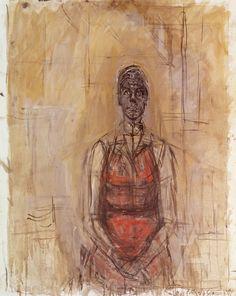 Alberto Giacometti, Caroline 1965 on ArtStack #alberto-giacometti #art