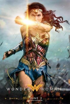 Cool new poster of Gal Godat for Wonder Woman
