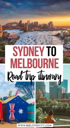 Discover the best stops between Sydney and Melbourne in Australia. Phillip island, Wilsons Prom, Eden, Lakes entrance, Brighton beach... they are all here! Sydney to Melbourne road trip itinerary | Sydney to melbourne coastal drive | sydney to melbourne drive | best road trips in australia | Australia road trip | Sydney road trip | Melbourne road trip | Australia travel guide | Drive from Melbourne | Drive from Sydney | Beautiful places in australia | Australia travel tips Sydney Australia Travel, Melbourne Travel, Visit Australia, Victoria Australia, Road Trip Packing, Road Trip Hacks, Road Trips, Wilsons Prom, Travel Destinations