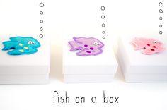 DIY – fish on a box – Geschenkboxen ganz leicht selbst zu machen
