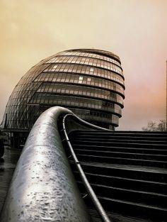 London City Hall   England (by Isidoro M)
