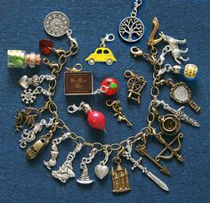 Once Upon a Time inspired bracelet custom charm by BeeHappyShop