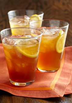 Bubbly Iced Tea — Diet lemon-lime soda gives this refreshing iced tea a bubbly burst of flavor.
