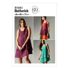 Misses' Dress-16-18-20-22-24 Pattern, , hi-res