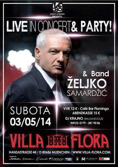 Zeljko Samardzic am 03.05.2014 in München Deutschland (Balkanevent)
