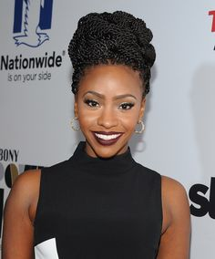 Teyonah Parris Photos Photos - Actress Teyonah Parris attends the 2014 Ebony Power 100 List event at Avalon on November 19, 2014 in Hollywood, California. - Arrivals at the Ebony Power 100 List