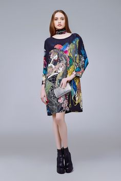 d7f635822721fd Women s Dresses -Roberto Cavalli Official Website   Online Store