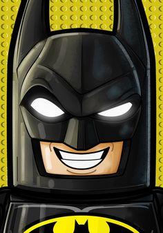 Lego Batman by Thuddleston - Lego Batman - Ideas of Lego Batman - Lego Batman by Thuddleston Lego Dc Comics, Batman Comics, Lego Marvel, Batman Batman, Batman Stuff, Batman Pictures, Batman Painting, Batman Drawing, Art Projects