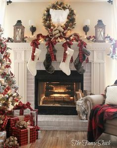From classically traditional to charmingly rustic, these Christmas mantel ideas include many decorating styles designed by exceptionally creative bloggers.