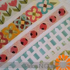 Piece N Quilt: An Adorable Row Quilt