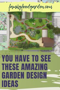 """Creating a garden takes some thought, planning and time. Family Food & Garden has compiled a comprehensive guide that offers dream garden design ideas on a budget that you have to see. With many options to sketch your beautiful garden, our guide gives you some unique ideas that are not the standard """"plant now bloom later"""" type of garden. Some of these ideas will require a 1-5 year plan and we take you step-by-step. Learn more to upgrade your garden…#gardendesign #gardenplans #gardenideas Amazing Gardens, Beautiful Gardens, Garden Design Ideas On A Budget, Garden Ideas, 5 Year Plan, Healthy Fruits And Vegetables, She Sheds, Landscape Plans, Dream Garden"""