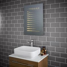 Capture all of the attention with a beautiful Infinity Mirror for your bathroom, ensuite or hallway! Get creative and add a unique twist the the room with a Pebble Grey never-ending mirror!