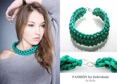 Hochwertiges Collier - Fashion for Individuals von Seila's Herzenssachen auf DaWanda.com
