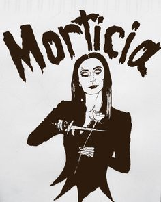 #chineseink #morticia #addams Gomez And Morticia, Morticia Addams, Family Values, Family Love, Broken Hearts Club, Nightmare Before Christmas Tattoo, Tim Burton Characters, Emily The Strange, Horror