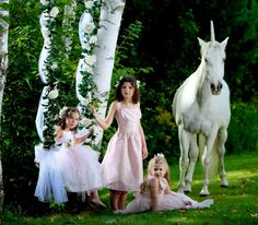 Still in love with this photo shoot we did for the Spring 2012 issue ~ Unicorns and blush tones designed by our Editor Gina Karlsson - Photo by Dan Doke Photography