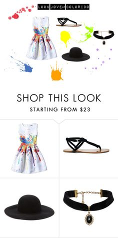 """""""Look Jovem Colorido"""" by gabydesigner on Polyvore featuring Sole Society and Forever 21"""