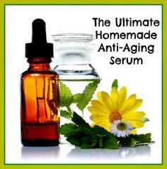 The Ultimate Homemade Anti Aging Serum Recipe http://herbsandoilshub.com/the-ultimate-homemade-anti-aging-serum-recipe/  This anti-aging serum uses an interesting combination of carrier and essential oils.