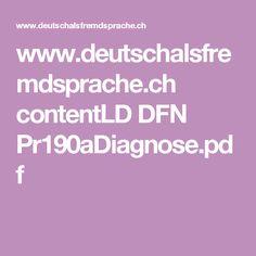 www.deutschalsfremdsprache.ch contentLD DFN Pr190aDiagnose.pdf