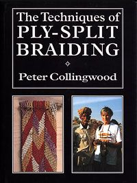 The Techniques of Ply-Split Braiding by Peter Collingwood; How to Make Ply-Split Baskets and How to Make Ply-Split Braids by Linda Hendrickson. Inkle Weaving, Macrame Patterns, Micro Macrame, Braids, Reading, Books, Darning, Fiber, Tapestry