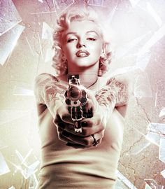 Marilyn Monroe Gangster | Gangster Marilyn by mqfbr