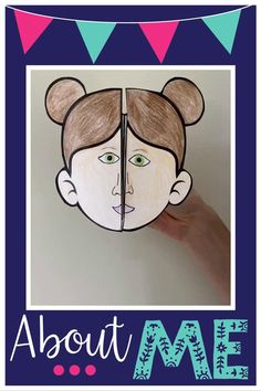 All About Me Project, All About Me Crafts, All About Me Art, All About Me Activities, First Day Of School Activities, Kindergarten Activities, Classroom Activities, Preschool Activities, All About Me Booklet