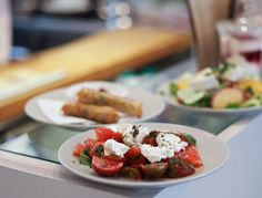Honey & Co. offers a sophisticated and inventive Middle Eastern/European menu of amazing mezes