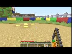 [Popularmmos - Minecraft ] FUN TIME PARK - PAT AND JEN IN MARIO KART RAC...