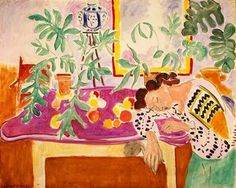 "lachinapoblana: "" Henri Matisse Still Life with Sleeping Woman, 1940 """