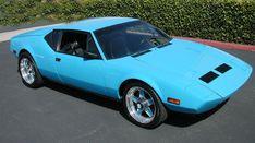 pantera car | 1972 DeTomaso Pantera Original owner car Mini-Brute Crate engine ...