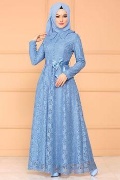 Hijab Fashion Summer, Abaya Fashion, Muslim Women Fashion, Islamic Fashion, Hijabi Gowns, Hijab Style Dress, Dress Brokat, Culture Clothing, Mode Abaya