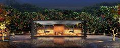 SCDA Architects Awesome Pools, Cool Pools, Modern Landscaping, Outdoor Landscaping, Scda Architects, Courtyard Pool, Big Pools, Minimalist Garden, Guilin