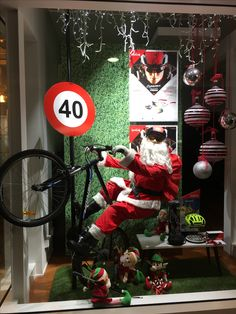 "VISION X OPTOMETRIST, Parnell, Auckland, New Zealand, ""Santa... Experience the Ultimate Vision"", for Bolle Eyewear, created by Ton van der Veer"