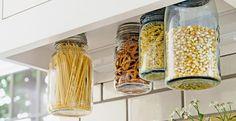 20 DIY Kitchen Storage Ideas