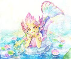 river spirit nami by MizoreAme.deviantart.com on @DeviantArt League Of Legends Nami, Legend Images, Game Character, Game Art, Boom Boom, Merfolk, Manga, Anime Fantasy, Spirit