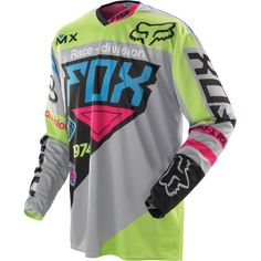 IT would match the colors of my helmet!!!! FOX 360 INTAKE JERSEY - GM/BLUE
