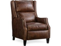 The Thomas 3-Way Lounger w/Articulating HR comes standard with a Spring Down seat and Bustle Back with your choice of leather & finish.