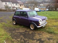 "eBay: Classic mini. A very rare "" equinox"" in stunning "" purple""...... #classicmini #mini"