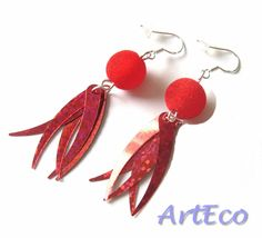Sterling Silver earrings with sparkle wings - all for FREE