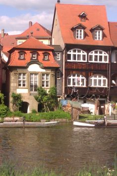 old houses in Bamberg, Germany