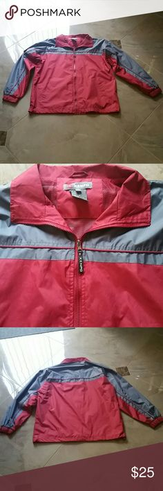 KENPO Wind/rain jacket Red with grey perfrct perfect condition/ used once / large / very comfortable kenpo  Jackets & Coats