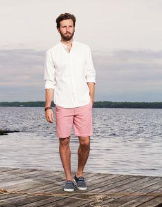 pink shorts fashion