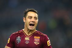 Cooper Cronk Photos - Cooper Cronk of the Maroons looks on before game one of the State Of Origin series between the New South Wales Blues and the Queensland Maroons at ANZ Stadium on June 1, 2016 in Sydney, Australia. - State Of Origin I - NSW v QLD